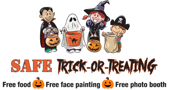 Safe Trick-or-Treating logo